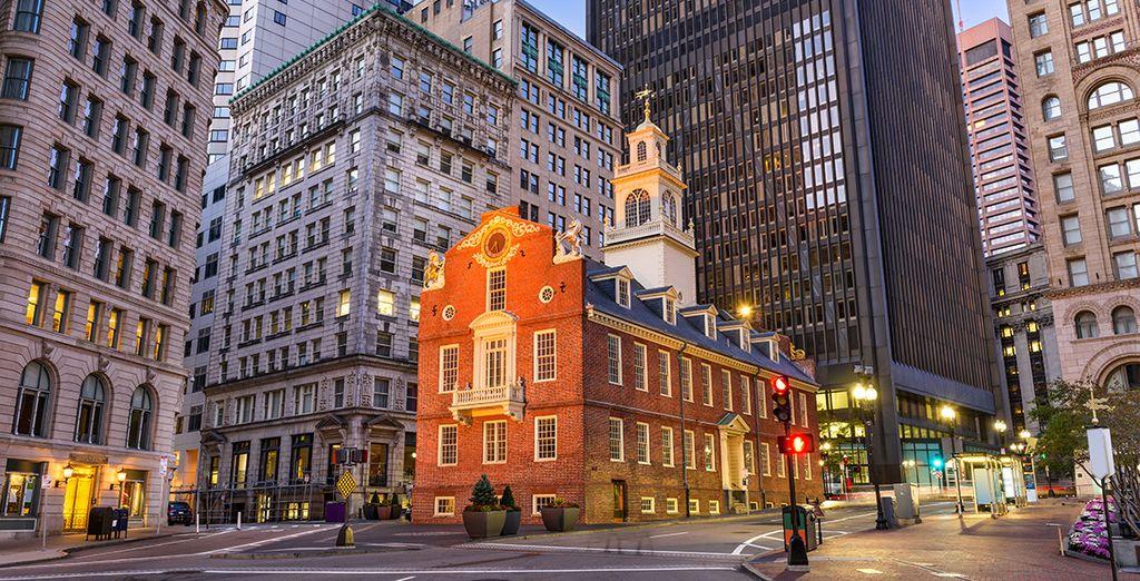 Boston hat viel zu bieten