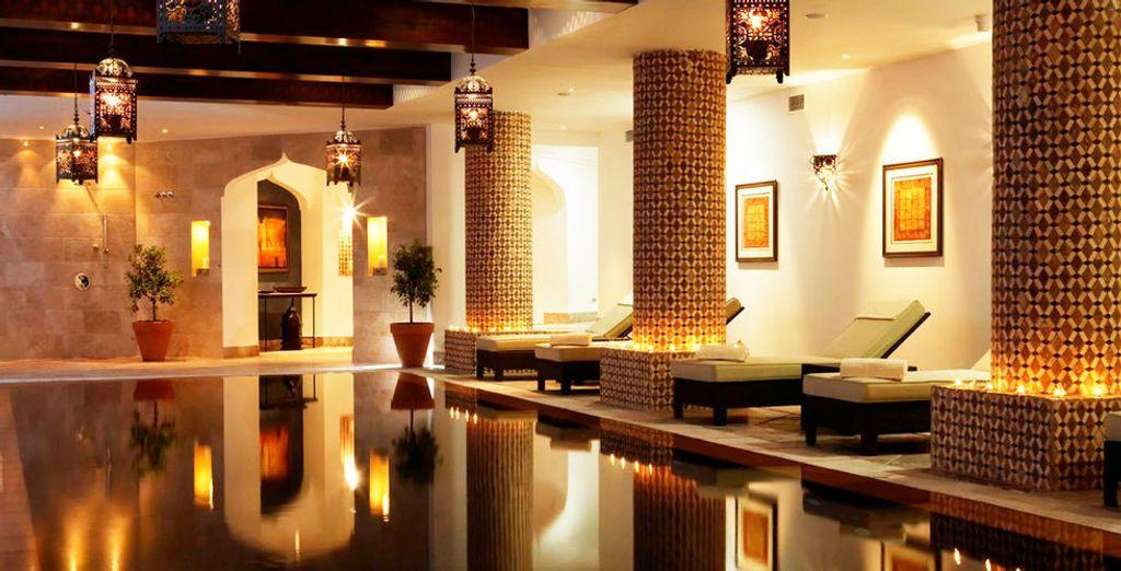 Das Hotel bietet einen wunderschönen Wellnessbereich