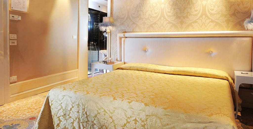 Beziehen Sie ein komfortables Deluxe Zimmer
