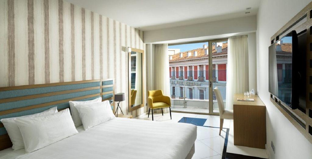 Buchen Sie in einem unserer luxuriösen Hotels in Athen