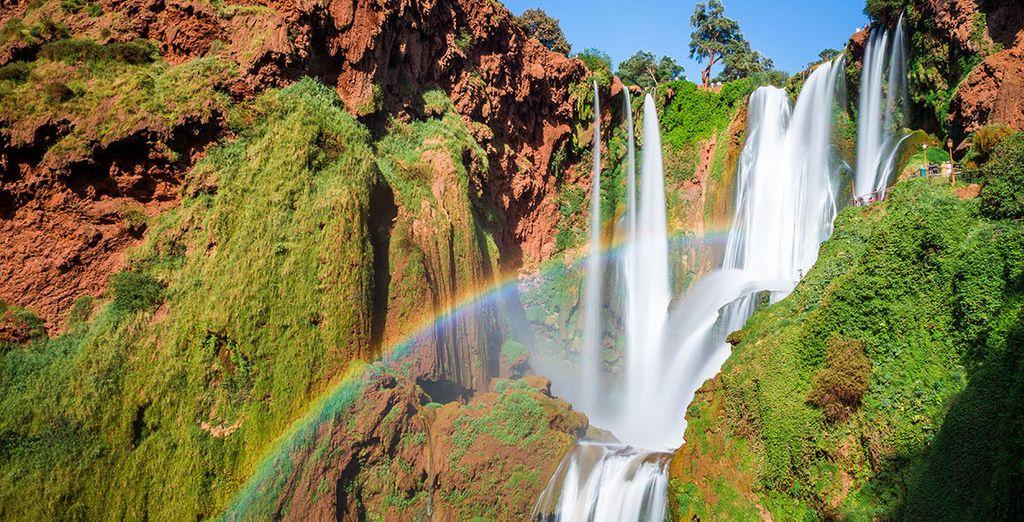 Die idyllischen Landschaften der Ouzoud Falls