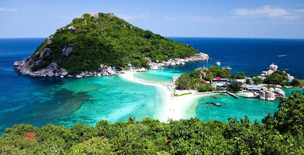 Reisen Sie in den Marinepark Ang Thong