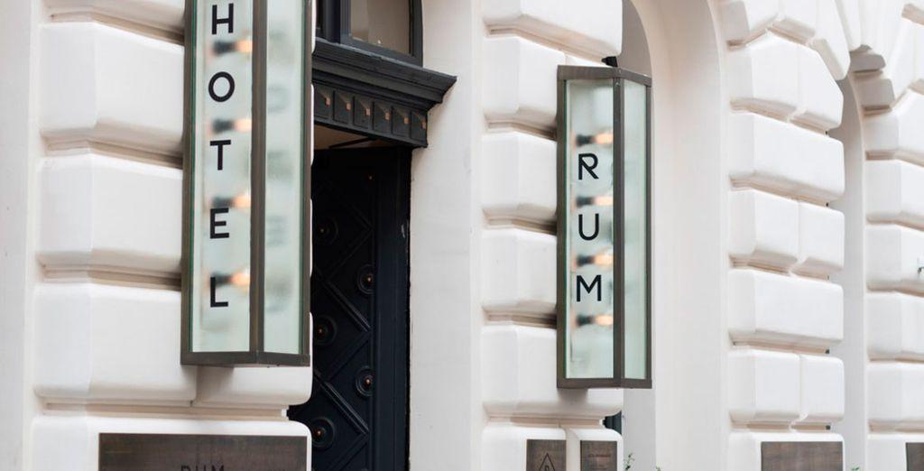 Willkommen im Rum Hotel!