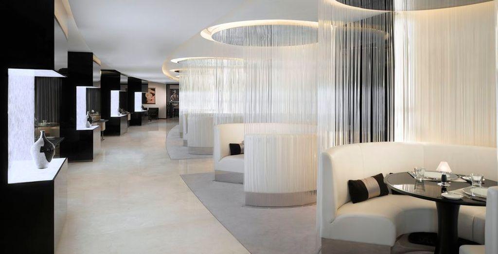 Eine luxuriöse Einrichtung