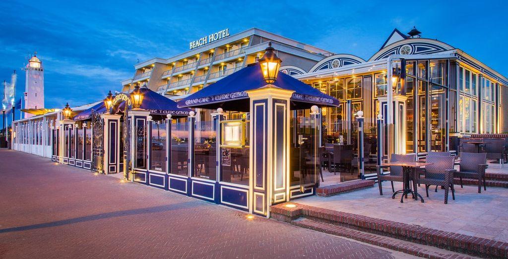 Beach Hotel Noordwijk - Buchen Sie Ihr Hotel an der Nordsee mit Voyage Privé