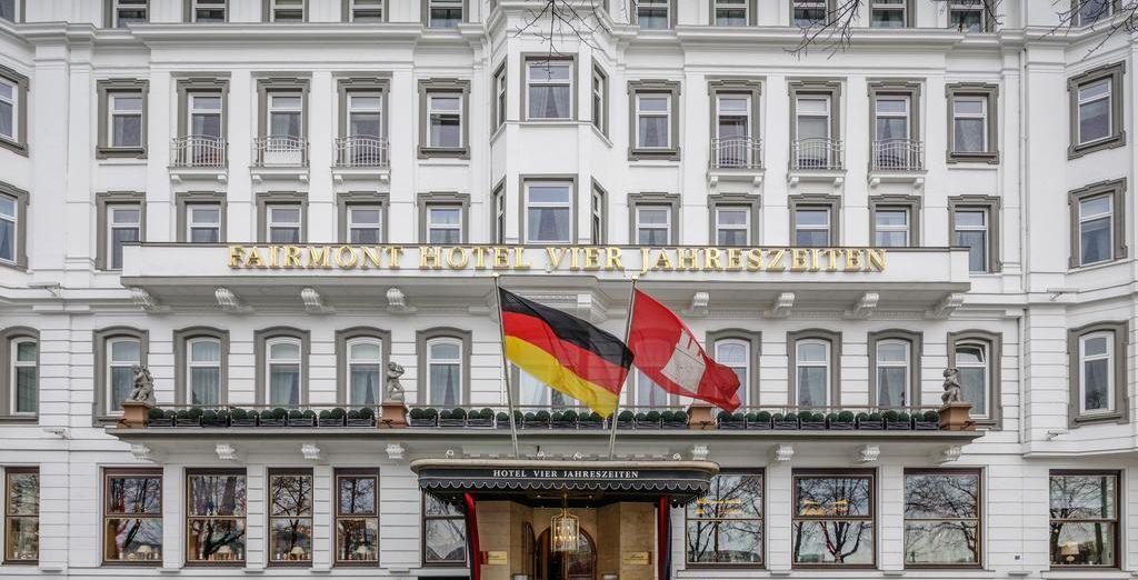 Fairmont Hotel Vier Jahreszeiten 5* + Hamburgische Staatsoper