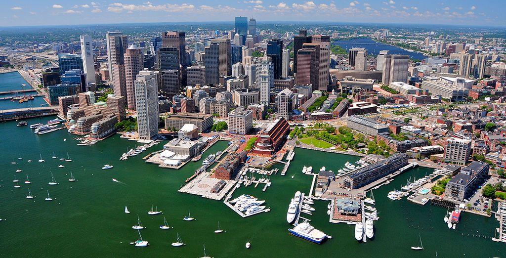 Danach geht die Reise nach Boston