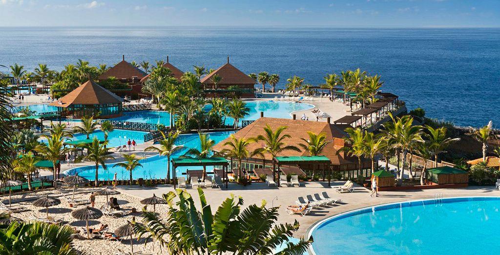 Buchen Sie das luxuriöse Hotel La Palma & Teneguia Princess auf Voyage Privé