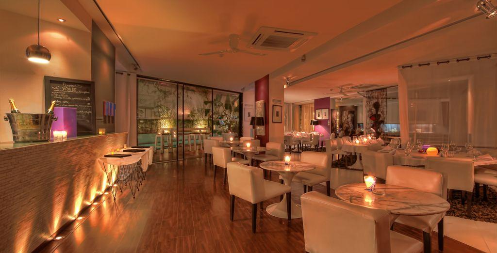 A la hora de cenar, te proponemos el restaurante BAB