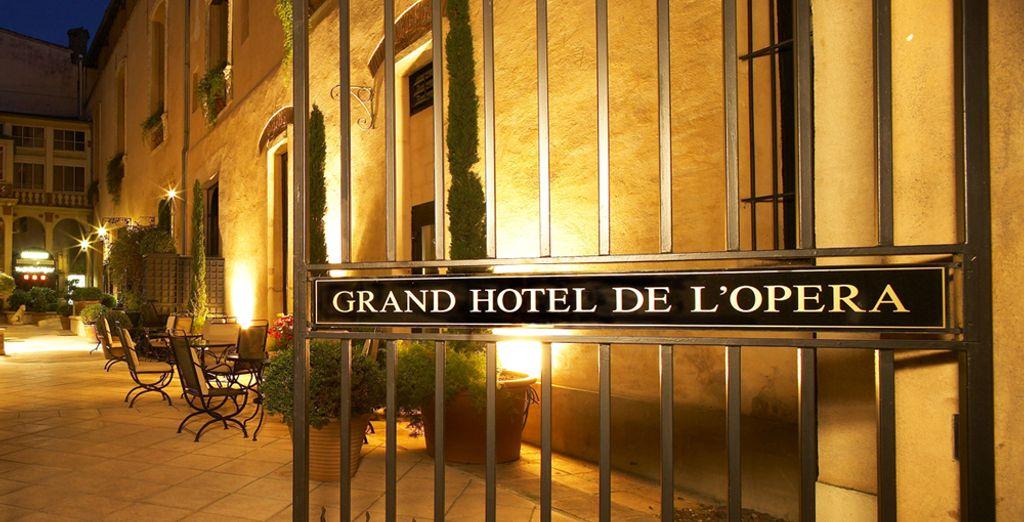 ¡Bienvenido al Grand Hotel de l'Opéra!