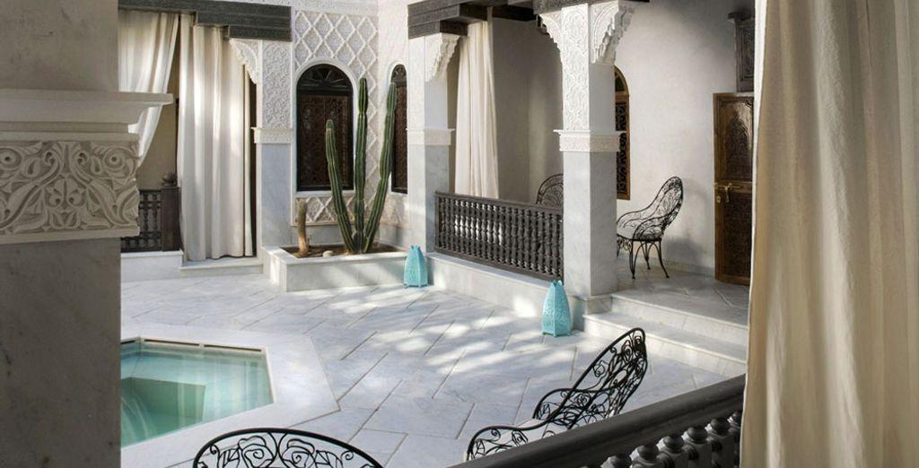 Hay mucho para ver y apreciar en Marrakech