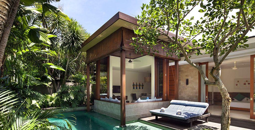 Descubre tu villa con piscina privada
