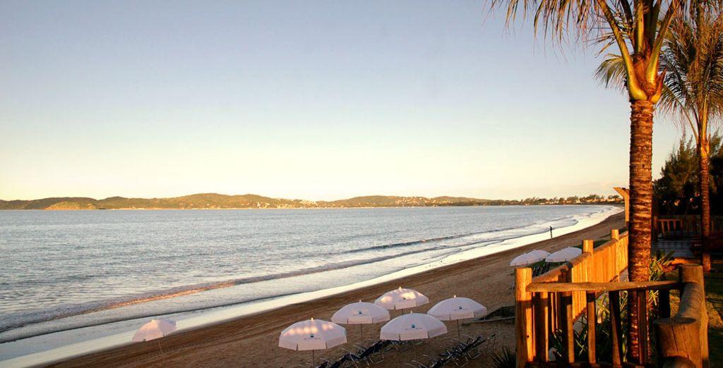 Un acogedor establecimiento de 4* ubicado junto a Praia Rasa...