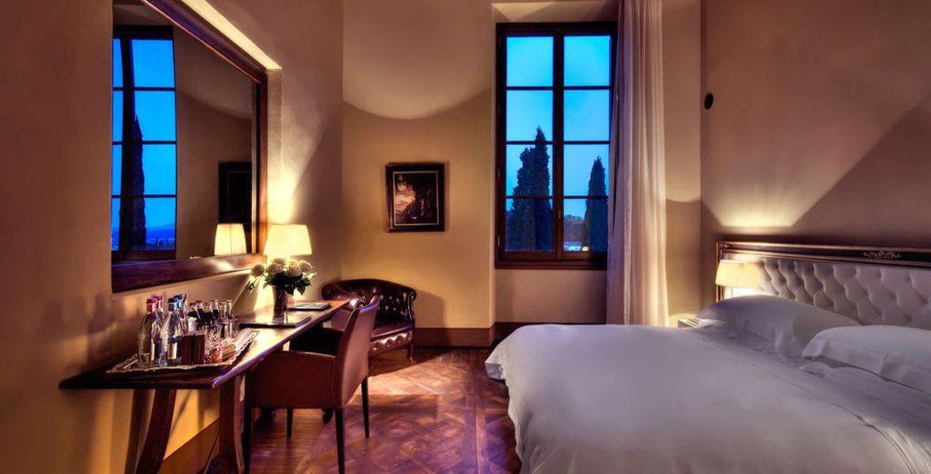El hotel también pone a tu disposición una elegante selección de Habitaciones Clásicas