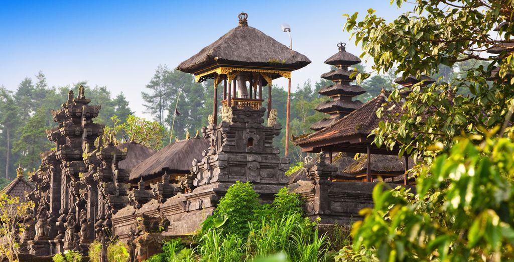 Te maravillarás con sus templos místicos