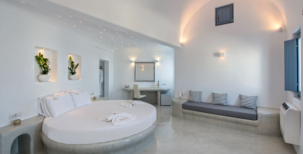 La Honeymoon Plunge Pool Suite también presenta una serie de ventajas...