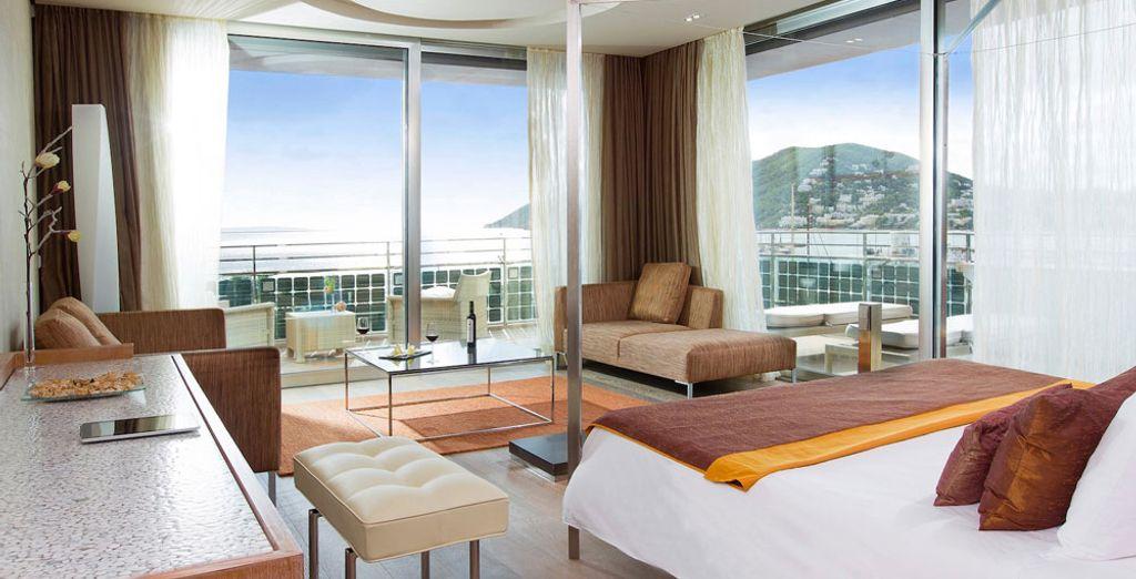 También tienes la opción de elegir la Suites Corner, que cuenta con un gran espacio