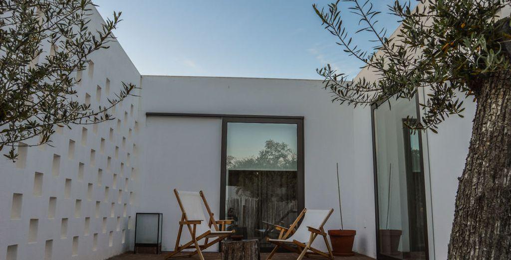 Alójate en un bungaló privado de 70 m²