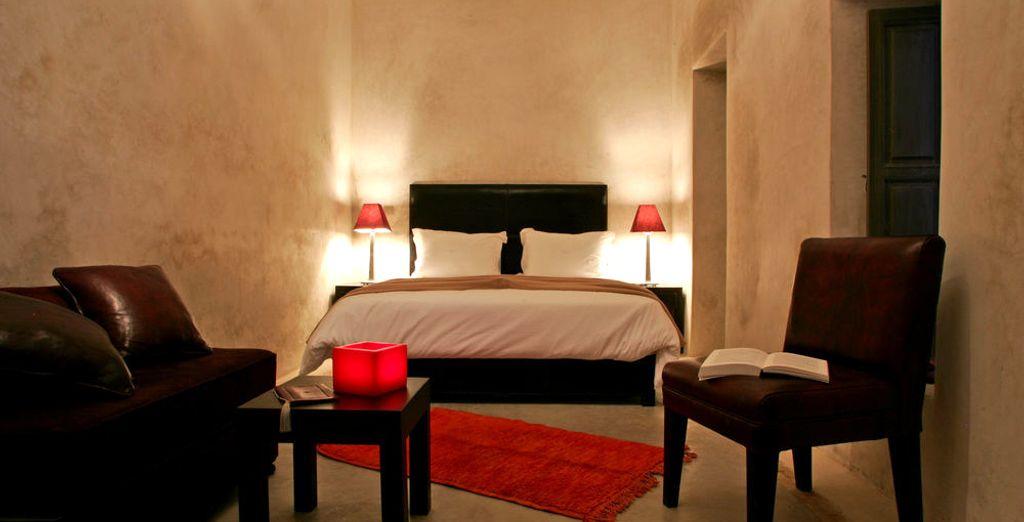 Como una bocanada de aire fresco, ponte cómodo en la habitación Oasis