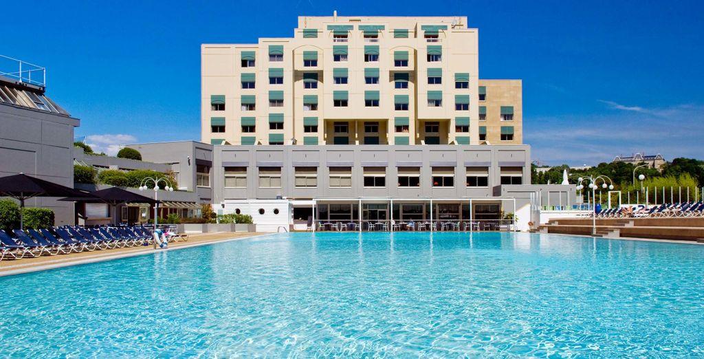 ¡Ven al hotel Lyon Métropole 4*!