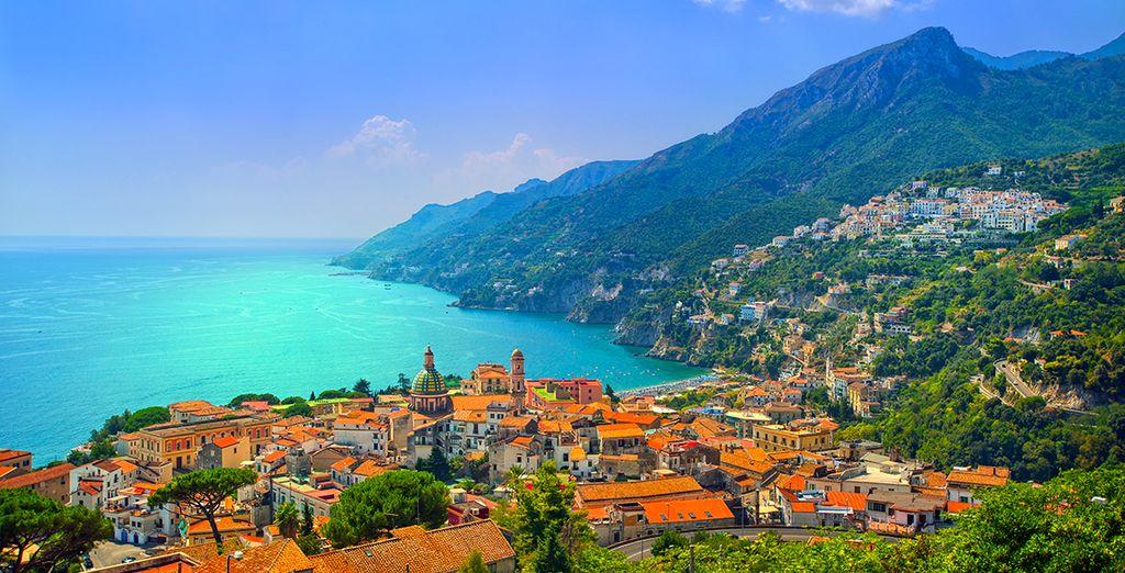 ¡Disfruta de la costa Amalfitana!