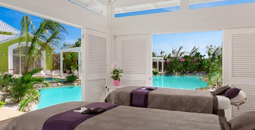 Regálate un momento relajante en el spa