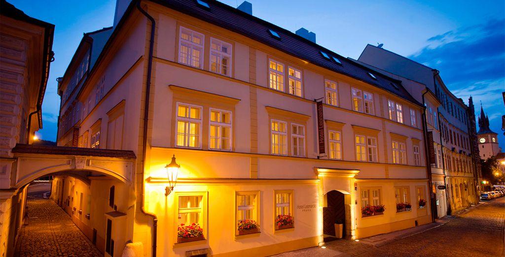 Bienvenido al Hotel Leonardo Praha