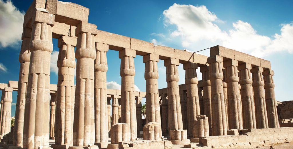 Visitará el Templo de Luxor