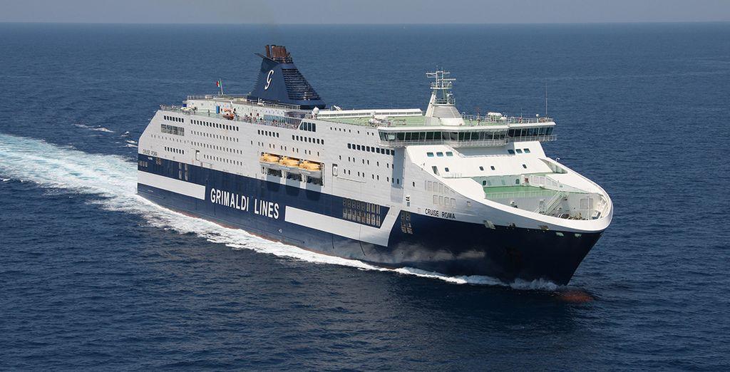Surque el Mediterráneo con Grimaldi Lines y llegue hasta Cerdeña con su coche
