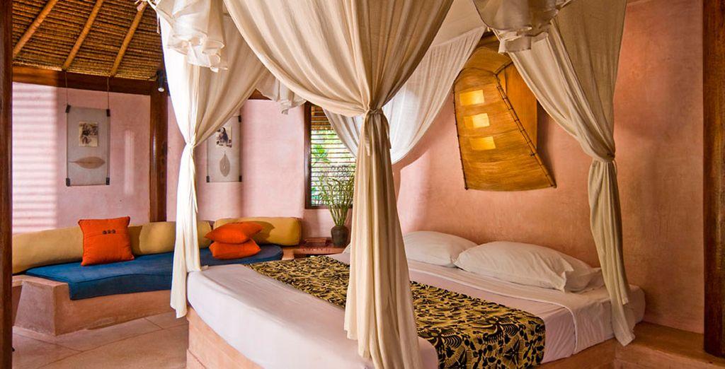 La habitación Lanay es la mejor opción para hospedarse en la isla