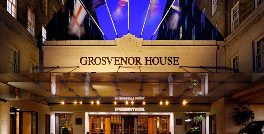 No se querrá marchar del The London Grosvenor House