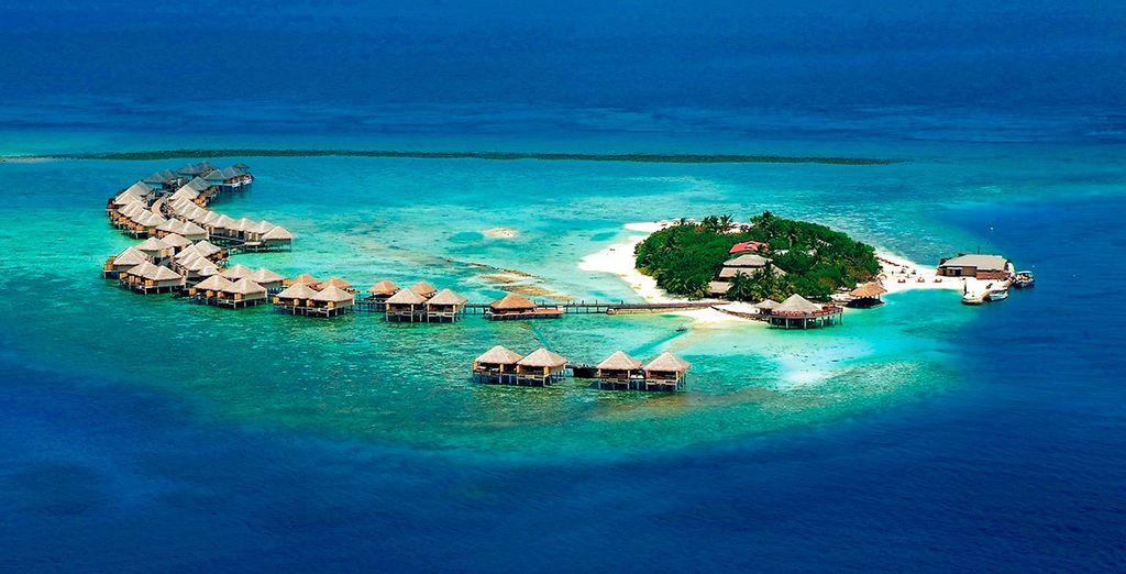 Adaaran Prestige Vadoo 5*, un resort exclusivo que te hará soñar despierto