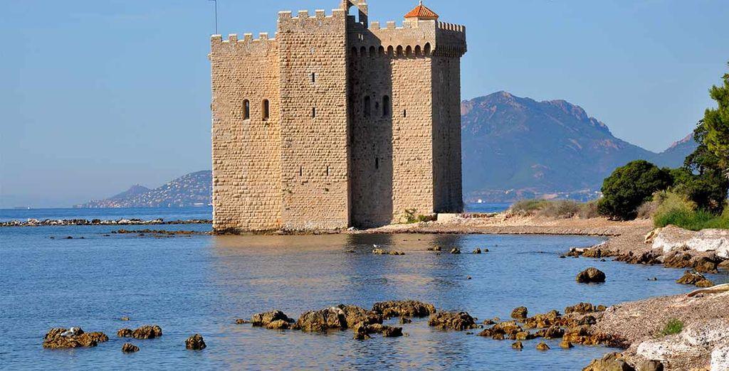 Cerca de Cannes encontrará verdaderos tesoros culturales