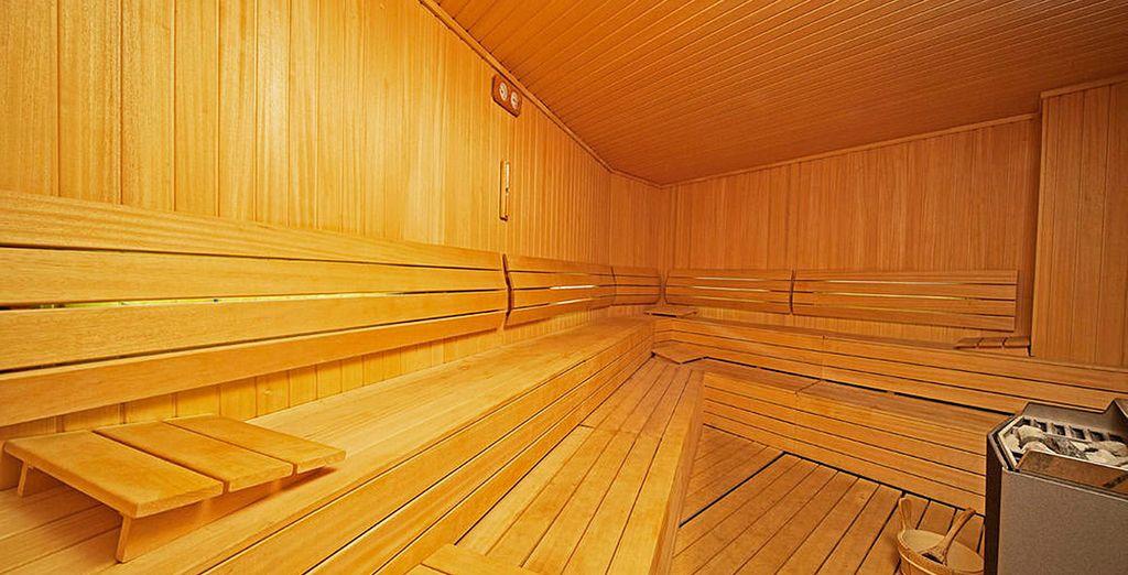 Relájate en las dependencias de su spa