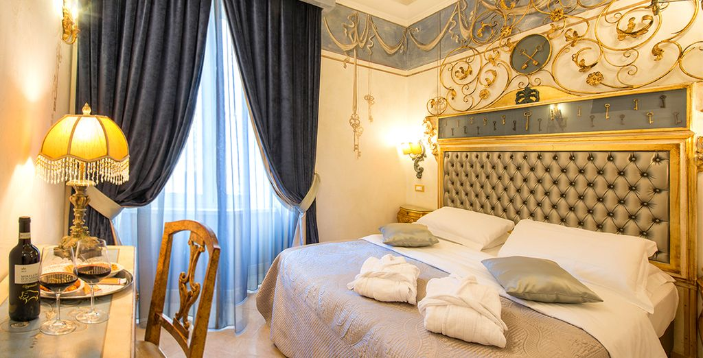 El Hotel Romanico Palace 4* atesora un elegante estilo imperial