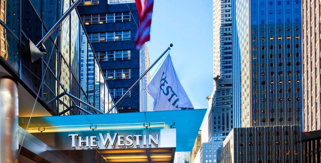 Situado en el corazón del centro de Manhattan
