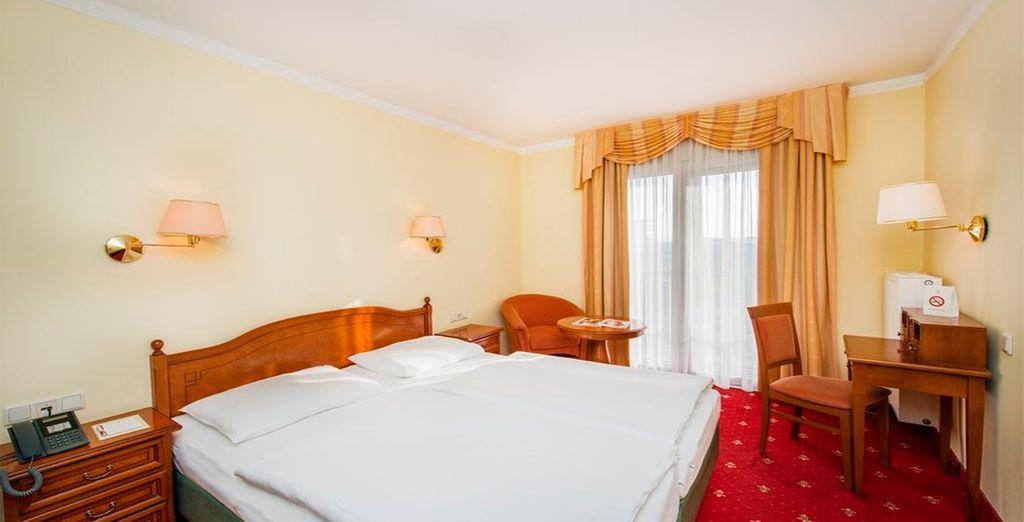 Tu confortable habitación en Hotel Prinz Eugen 4*, Viena
