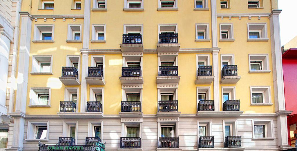 Bienvenido al Hotel Oran 4*