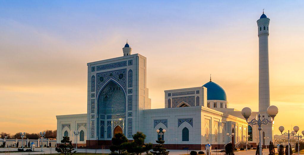 Llegarás a la capital, Taskent