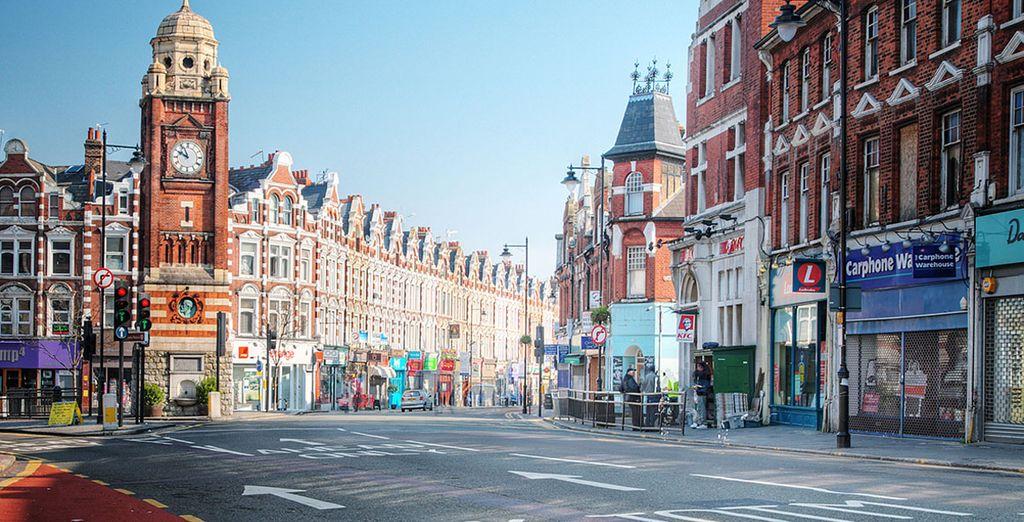 A un paso de las calles más comerciales de la ciudad