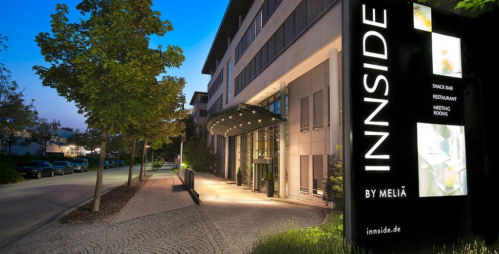 Bienvenido al Hotel Innside by Meliá München Neue Messe