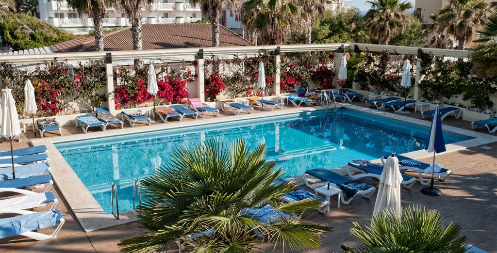Situado al noroeste de Mallorca, en una preciosa bahía cerrada por montañas