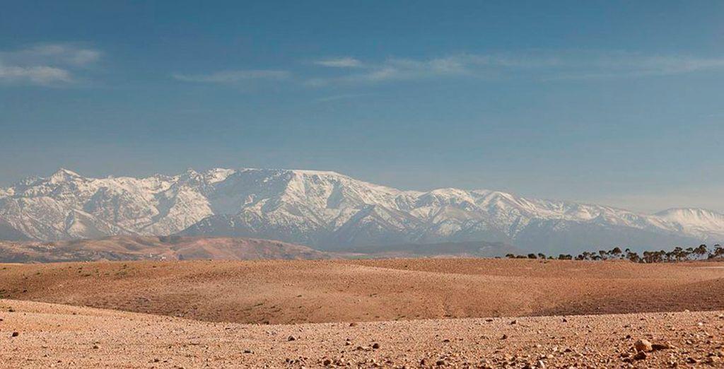 El desierto de Agafay, todo un destino por descubrir