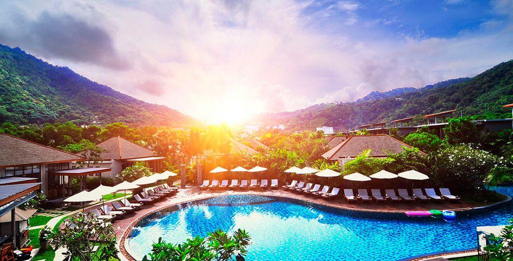 Bienvenido al maravilloso Metadee Resort & Villas 5*