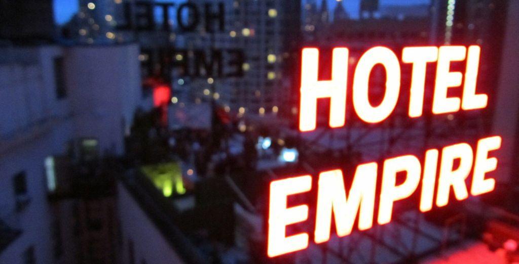 Bienvenido al Hotel Empire