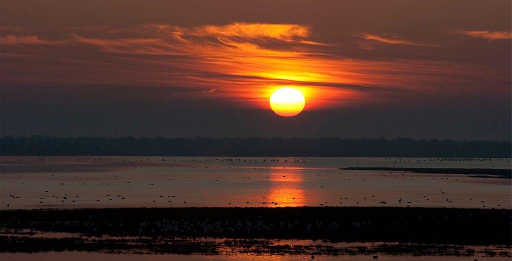 Impresionantes puestas de sol y atardeceres espectaculares con un clima privilegiado