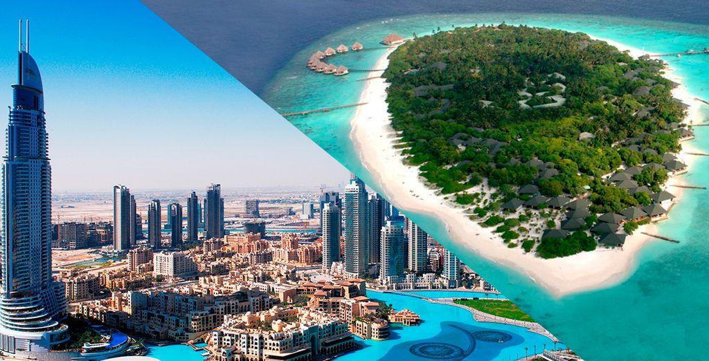 El combinado perfecto: Dubái & Maldivas