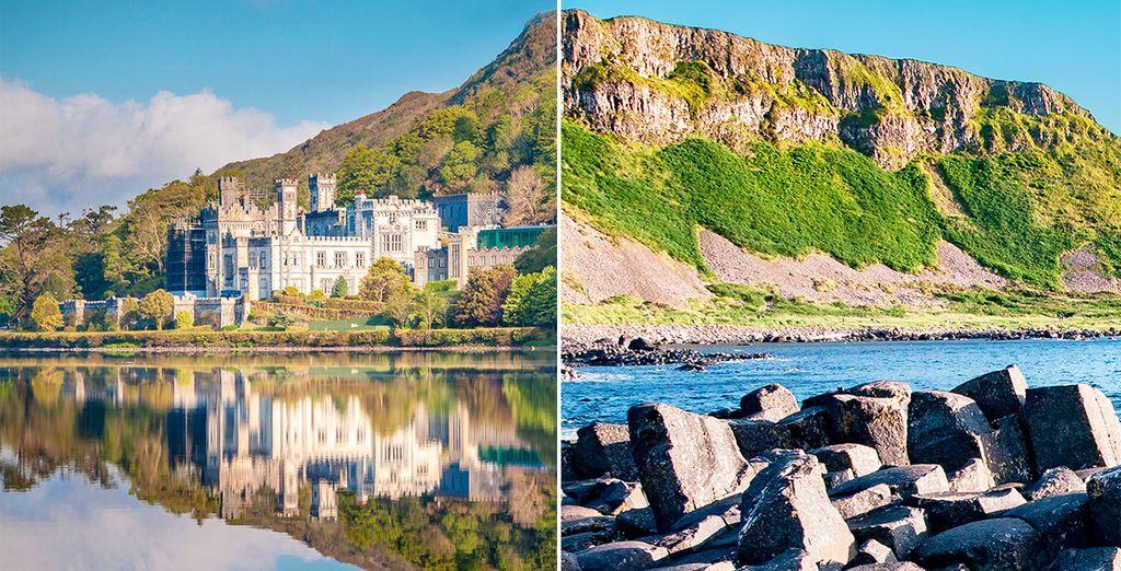 Paisajes y Castillos de Irlanda con extensión opcional en Belfast ...