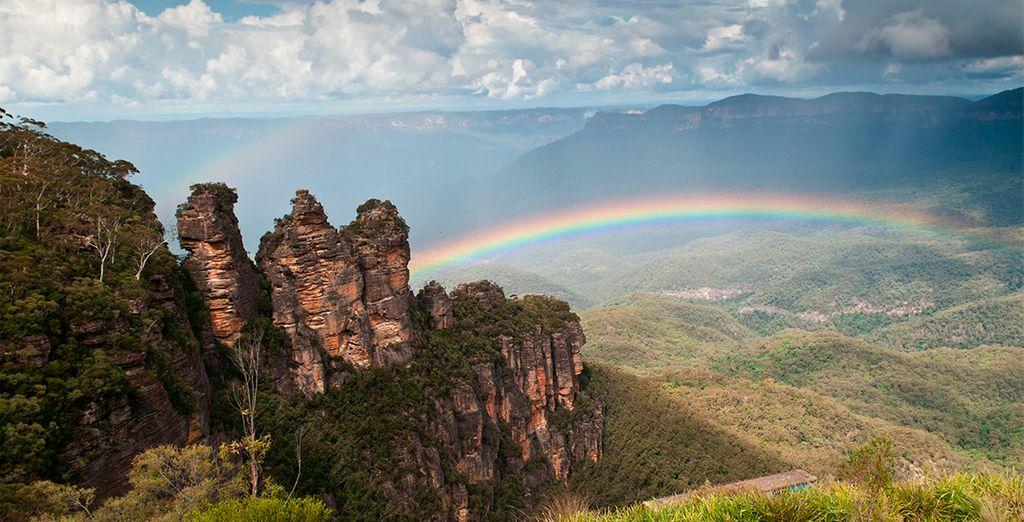Montañas Azules, declarado Patrimonio de la Humanidad