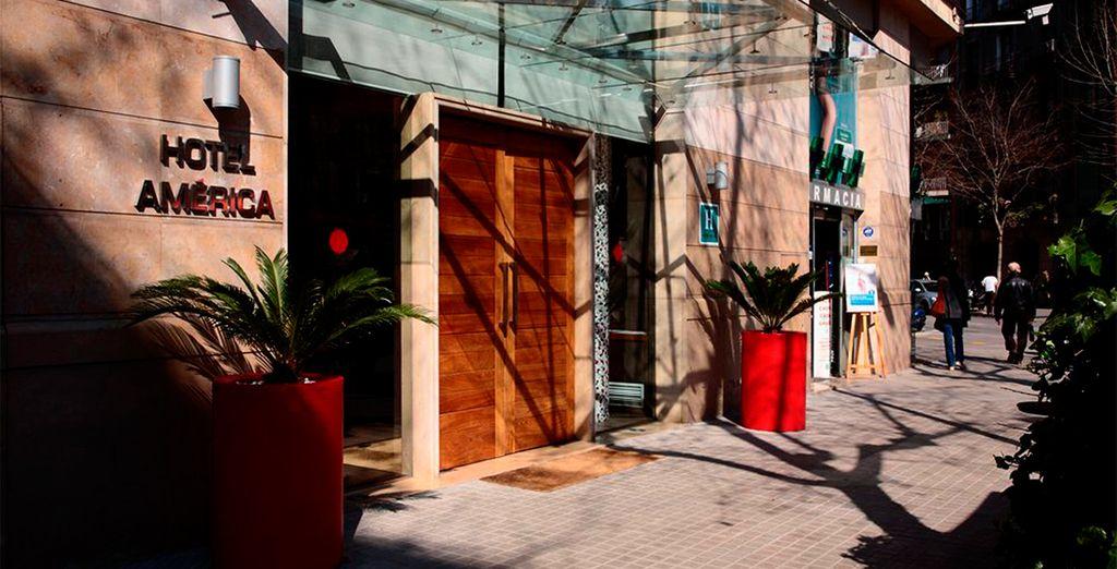 A pocos metros de Pg. De Gràcia y Av. Diagonal, una ubicación privilegiada
